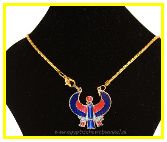 Horus Falcon necklace 2