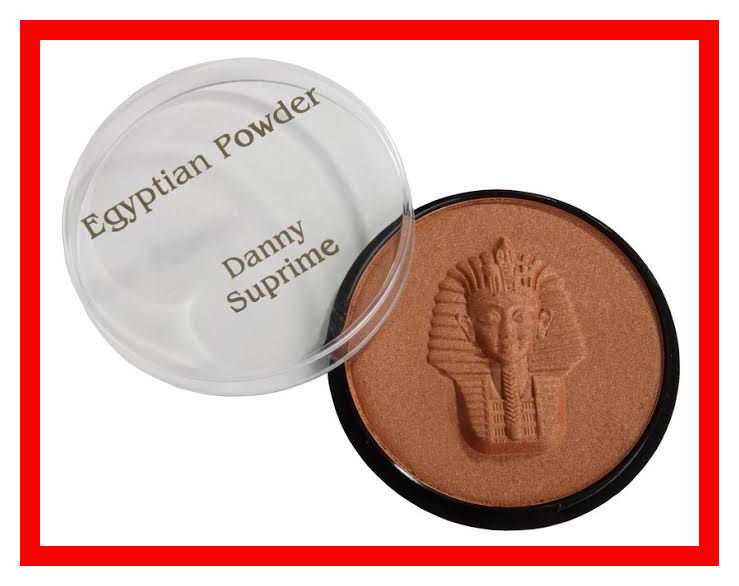 Egyptian make-up matt powder